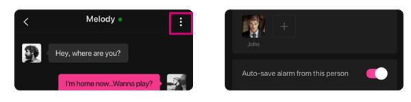 Tienes la habilidad de ajustar la configuración para cada pareja al usar la app Lovense Remote.