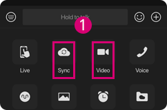 Long-distance sex is available via the Sync Together or Video Chat button.