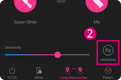 You can choose how the toys sync together in in a Sync Together function when using The Lovense Remote app.