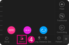You can choose the Long-distance Sex mode when using the Lovense Remote app.