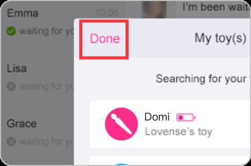 Comment connecter votre Domi avec l'application Lovense Remote sur Windows PC.
