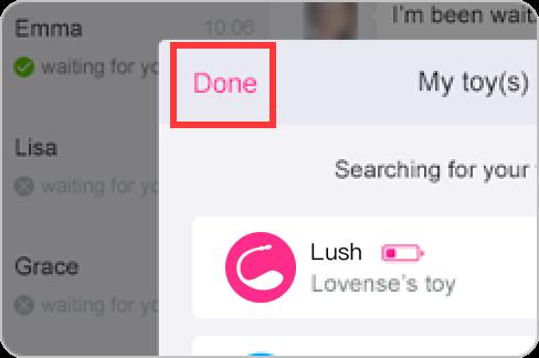 Comment connecter votre Lush avec l'application Lovense Remote sur Windows PC.