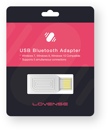lovense usb bluetooth packaging