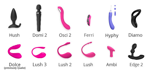 Osci, Domi, and Ambi are the Programmable toys which allow you to customize your vibration levels as per your body's needs!